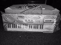 49 key, multi-function electronic keyboard.