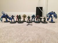Halo, Gears of War and Assassins Creed Figures