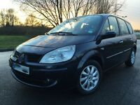 2008 RENAULT GRAND SCENIC, 7 SEATER, AUTOMATIC........