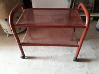 METAL TROLLEY IN NEED OF A NEW HOME