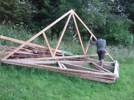 Roof Trusses, 5900 wide, 8 trusses, £150 or nearest offer