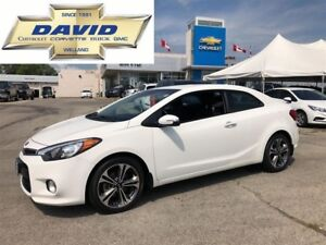 2015 Kia Forte Koup EX/ KEYLESS/ REAR CAM/ HEAT SEATS/ AC !!