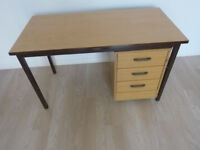 sm office desk 3 draws good condition will deliver for a fee locally