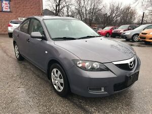2008 Mazda MAZDA3 ONE OWNER - NO ACCIDENT - SAFETY & WARRANTY IN