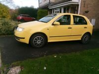 Skoda, FABIA, Hatchback, 2001, Manual, 1390 (cc), 5 doors