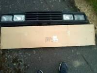 VW Golf square light grill