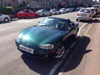Mazda MX-5 British Racing Green