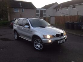 BMW X5 3.0 diesel automatic 2003 full service history.