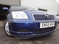 💥55 TOYOTA AVENSIS COLOUR COLLECTION VvTi 1.8,MOT AUG 017,2 OWNERS,2 KEYS,PART HISTORY💥