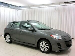 2013 Mazda 3 SKY-ACTIV 5DR HATCH w/ HEATED SEATS, LEATHER AND P