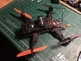 Drone, copter 250 class, video transmitter, no radio