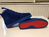 Christian Louboutin high tops size 9 amazing condition