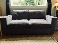 DFS Grey Sofa (sofa bed)