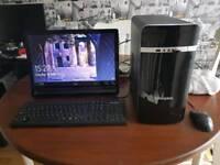 Zoostorm desktop full system. New Full HD hdmi grapics card Intel 2 core processor
