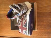 Converse size 3 shoes