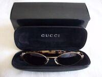 Ladies Gucci sunglasses complete with case & box