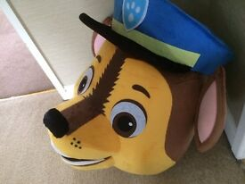 UK SELLER Adult Hot Paw Patrol chase Adult Mascot Costume fancy £139.99 plus £12.50 postage