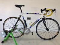 Custom Ambrosio Rapide Carbon Road Bike 56cm Frame
