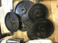 Complete Weights/Home Gym set