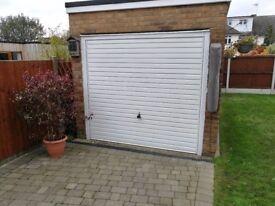Garadoor Up and Over White Garage Door