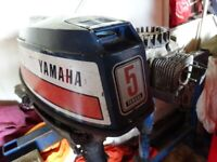 DISMANTERLING BREAKING YAMAHA MARINER 5 HP AIR COOLED OUTBOARD ENGINE