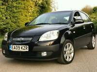 KIA RIO CRDI DIESEL MANUAL 5 DOORS BLACK