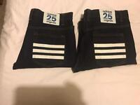 Adidas originals jeans x2 brand new with out tags