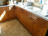 Kitchen units (Wood) and accessories