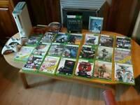 Xbox 360 with huge bundle of games