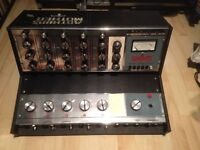 WEM audiomaster solidstae (reverb) 5x channel mixer ( with case) Not powering up!