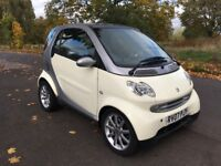 2007 SMART FORTWO CITY PASSION WHITE £30 TAX