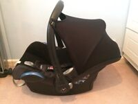 Maxi cozi isofix car seat adapters rain cover and car seat cover