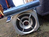 Car audio sub & amp