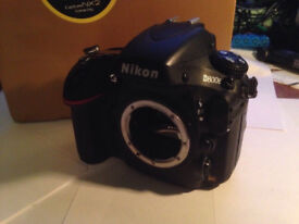 Nikon D800E DSLR camera body, Boxed in good condition