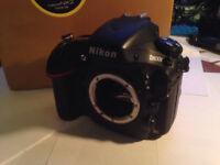 Nikon D800E DSLR camera body, Boxed in good condition