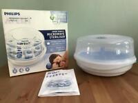 Philips Avent microwave steriliser - like new