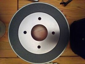 Brake drums ATE 24.0222-8029.1 Nissan Primera Rear P11