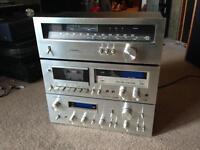 Vintage Pioneer Hifi SA-708 TX608 CR-F650