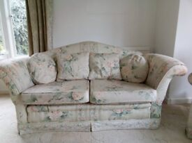 3 Piece Suite - settee and 2 arm chairs