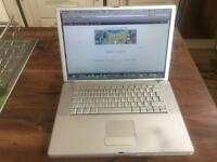 "Apple G4 Powerbook 15"" 1Ghz 2gb 80Gb HD OS X leopard office"