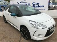 DS DS 3 1.2 PURETECH DSTYLE 3d 80 BHP A GREAT EXAMPLE INSIDE AND OUT (white) 2015