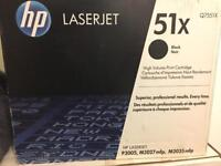 Hp laserjet 51X black toner cartridge