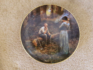 FIRST EDITION Collector plate. THE PIONEER.  PLATE NUMBER  G 847 Mansfield Brisbane South East Preview