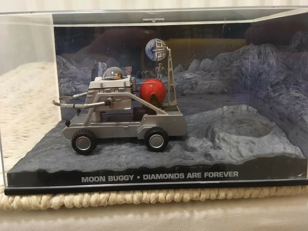 1:43 Moon Buggy - JAMES BOND COLLECTION -Diamonds Are Forever - FABBRI