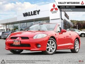 2007 Mitsubishi ECLIPSE SPYDER GT-P-, HEATED SEATS, LEATHER