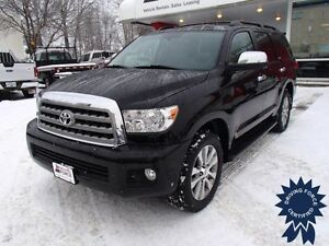 2014 Toyota Sequoia Limited 4x4 - 50,489 KMs, 8 Passenger SUV