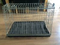 Sloping Car Boot Dog Crate