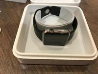 Apple Watch series 1 Stainless Steel 42 MM with all accessories and 2 straps