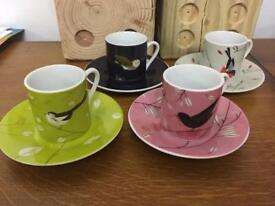 MAGPIE expresso cup and saucer set