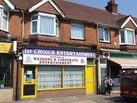 Shop For Rent In Worthing, West Sussex With Separate Lock Up / Storeage Building.Good Location.